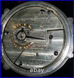 Fredonia pocket watch coin case