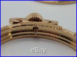 GP CASE! Display Salesman 16s Pocket Watch for Railroad, Lever Set, or Stem Set