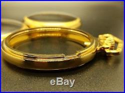 GP Display Salesman 18s Pocket Watch CASE for Railroad, Lever Set, or Stem Set