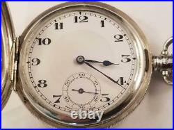 Gents Sterling Rolex Hunting Case watch, Circa 1926, Excellent! , just serviced