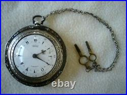 George Prior London 1846 pocket watch 3 cases