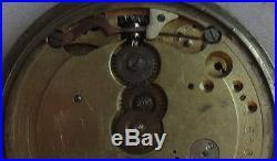 Girard Perregaux pocket watch movement & case parts 50,5 mm in diameter