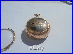 Gold pair case repousse verge half quarter repeater square pillar by miroir 1750