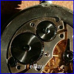Great Western Railway Record 15 Jewel Pocket Watch Nickel Cased, runs fine
