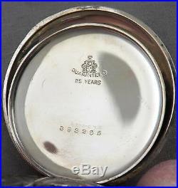 Hamilton 12 Size Pocket Watch, Open Face, 17J, Grade 910, NICE WGF Case, 1920s