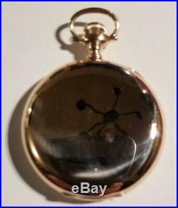 Hamilton 16 size 21 jewels adjusted grade 993 (1914) 14K Gold filled hunter case