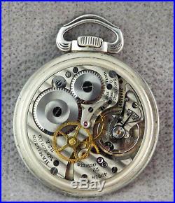 Hamilton 4992B GCT Navagation Master. 800 Fine Silver case (1942)
