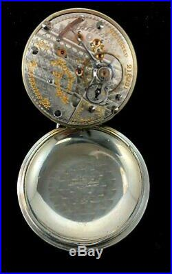 Hamilton 940 18s 21J Railroad Pocket watch Crescent Case Extra Fine condition