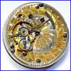 Hamilton 941 Special 21 Jewel 18s Rare 2-tone Hunting Case Pocket Watch Mvt