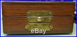 Hamilton GCT 22j WWII 4992B Military Navy Pocket Watch Air Man 24 Wood Case
