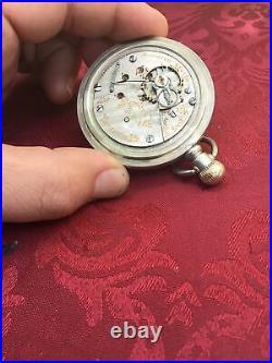 Hamilton Gr-940 18sz, 21j Pocket Watch Railroad Grade. Train On Case