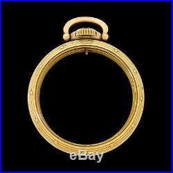 Hamilton Model A 10K Gold Filled 16 Size Railroad Pocket Watch Case 950B 992B