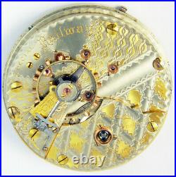 Hampden Special Railway 23 Jewel 18s 2-tone Hunting Case Pocket Watch Mvt
