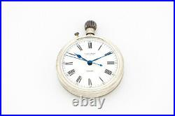 High end Ulysse Nardin deck watch chronometer No 122258 1944 silver 925 case