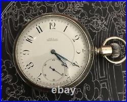 High grade Louis Audemars Brassus Helical Hairspring pocket watch display Case