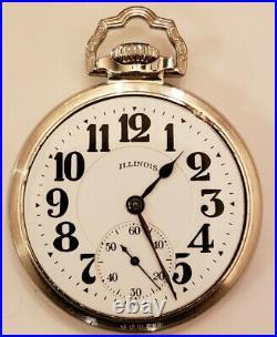 ILLINOIS 16S. Bunn Special 60H. 21J Type 3 Near mint 14K W. G. F. Bunn case (1926)