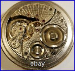 Illinois 16S. Bunn Special 21 jewel adjusted Railroad watch (1917) Tornado case