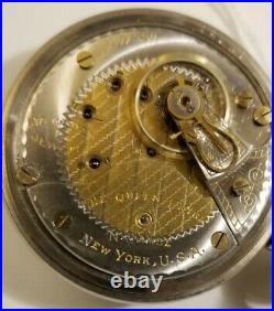 Illinois 18S THE QUEEN EXTRA 17 JEWEL ADJ TWO-TONE GRADE 89 display case (1919)