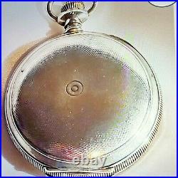 Illinois 18s- 21 Jewel Bunn Special Hunter Case 1898 Pocket Watch -RR Grade RUNS