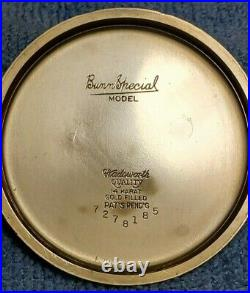 Illinois Bunn Special Type I 23j/60hr 14k Gf Wadsworth Case Exceptional