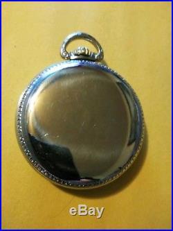 Illinois RARE (1899) (RAIL ROAD DISPATCHER) 11 jewels base case