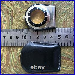 Jaeger LeCoultre Travel Memovox Case & Leather pouch
