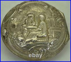 Lepine a Paris Verge Fusee triple silver&enamel case pocket watch. Ottoman market