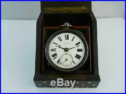 Lovely George III Mother Of Pearl Inlaid Pocket Watch Case