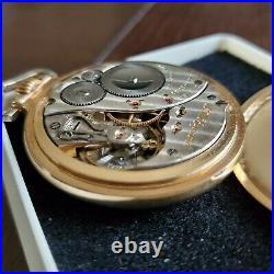 Mintique Elgin B. W. Raymond 21j 16s RR RailRoad Pocket Watch, 12K G. F. Case NICE