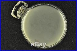 Minty Vintage 16s Hamilton 992e Elinvar 14k White Gold Filled Case Keeps Time