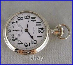 Near Perfect 1919 16s Illinois 23J Sangamo Special Watch Salesman Display Case