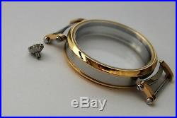 New 52mm Stainless Steel Case for Conversion Pocket Watch Movement 15,4 mm thick