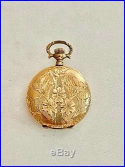 Ornate 25 Year Gold Filled Keystone Pocket Watch Case, See Other Gold Jewelry