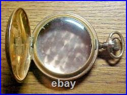 Providence 20 Year 18S Gold Filled Hunter Leverset Pocket Watch Case