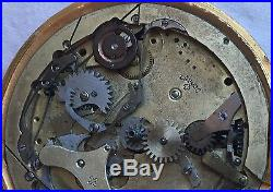 Quarter Repeater & Chronograph Pocket Watch movement dial & parts case