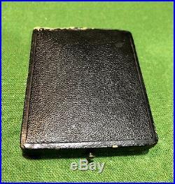 RARE ANTIQUE 1800s PATEK PHILLIPPE 18K GOLD POCKET WATCH With CASE & KEY WORKS