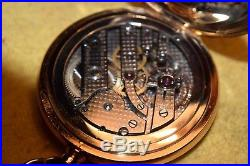Rare Webb. C. Ball 14 Kt Solid Gold Case, Agassiz Watch Co