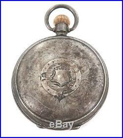 Rare Woolloongabba, Qld. D Blumberg, Jeweller Sterling Silver Pocket Watch Case