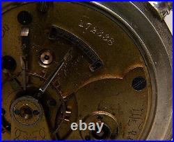 Rockford Coin Silver Hunter Case Pocket Watch