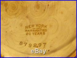 STUNNING Elgin BIG 18s Antique Gold Filled Pocket Watch! A+ Case Keep Time