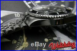 Seiko SBDC051 Submariner Case Mod 6R15 M'vmt Ceramic Bezel Sapphire Crystal 316L