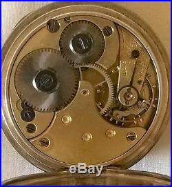 Silver Cased Omega Pocket Watch Working Order