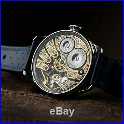 Skeleton Exclusive Masson Watch for Mens Pocket Watch in Art Deco Case and Dial