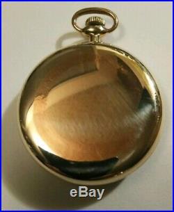 South Bend 16 size 7 jewels (1908) model 1 grade 261 14K. Gold filled case