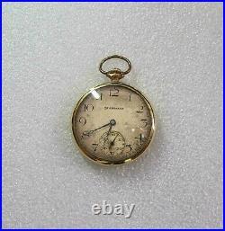 South Bend Studebaker 21j Railroad Watch 8 pos. 10K Gold Filled Case