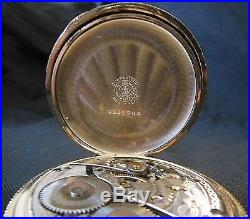 Stunning 1906 Gold Waltham Pocket Watch With Display Case
