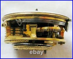 SuperB Sterling Silver pair cased verge fusee Pocket Watch R Twinham London 1781