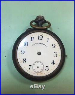 Swiss Stolz frères Quarter Repeater pocket watch, gun metal case, parts/repair