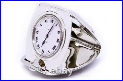 TIFFANY & Co. 1920 TRAVEL POCKET WATCH 8 DAYS CASE STERLING SILVER VERY RARE