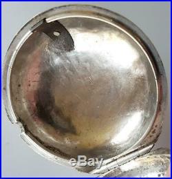 Thomas Ganthome London Verge Fusee Silver Pair Cases 1710c